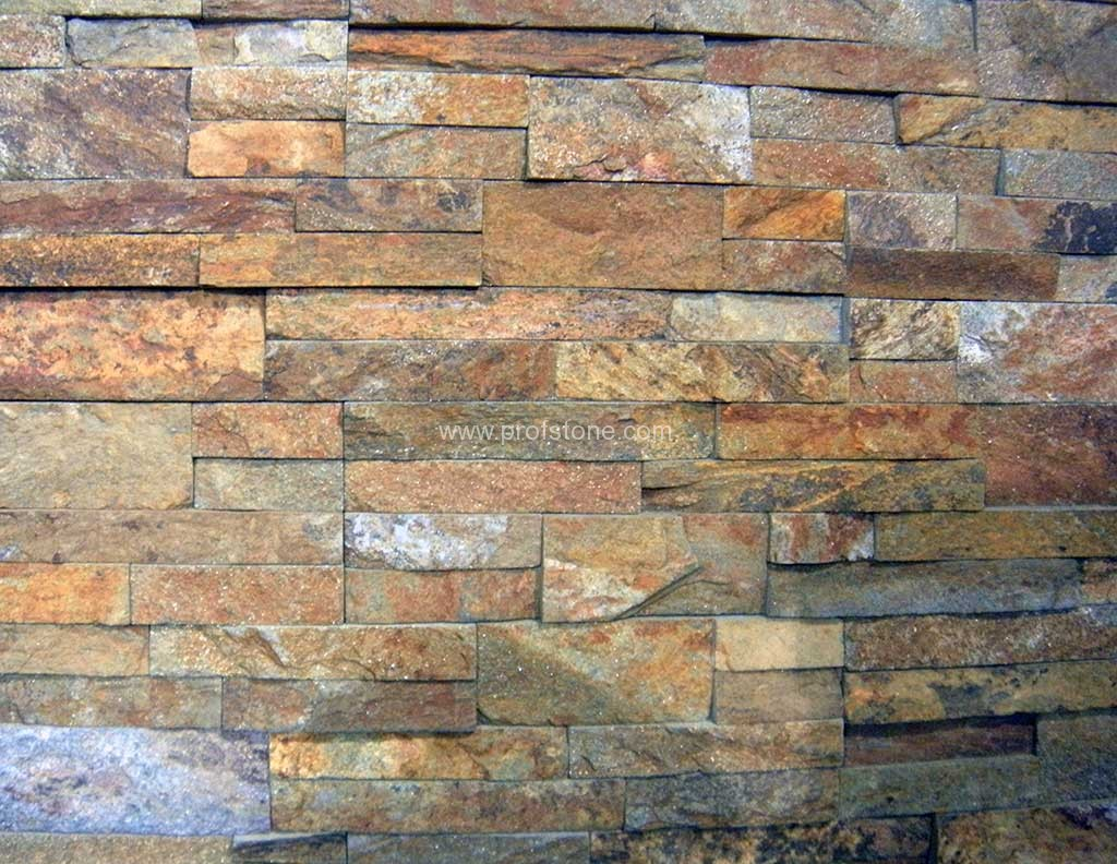 Building Stone Producers Association : Wall pannel natural stone landscape project
